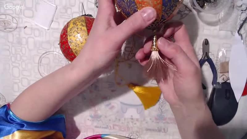Новогодние шарики в китайском стиле Ольга Большакова_HD