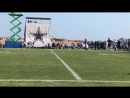 Zeke goes past LVE, throw is off CowboysCamp Day 12