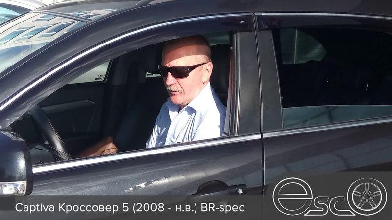 Автошторки EscO Captiva Кроссовер 5 (2008 - н.в.) BR-spec