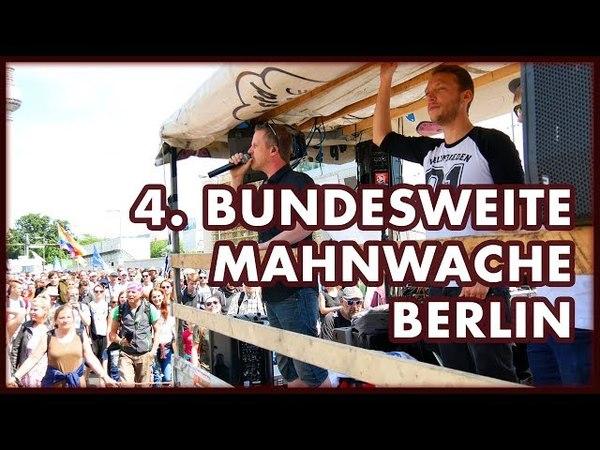 4 Bundesweite Mahnwache Berlin Impressionen und Interviews