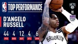 D'Angelo Russell's UNREAL 44 Point Career-High Performance March 19, 2019