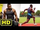 Explosive Olympic Sprinter training