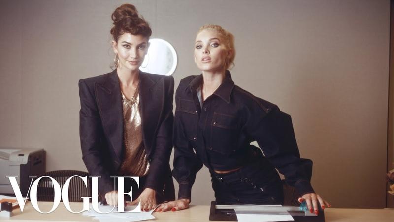 Workin' 9 to 5: Inside the Vogue Office! ft. Kate Upton, Elsa Hosk, Joan Smalls More | Vogue