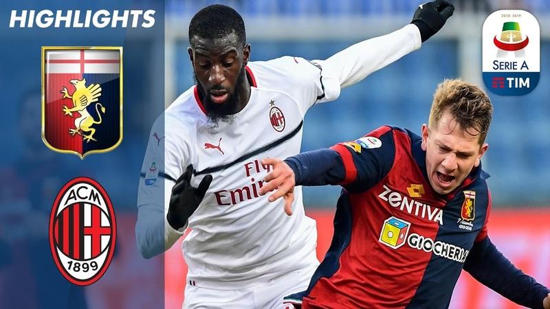 Genoa 0-2 Milan   Borini And Suso Seal Crucial Win for The Rossoneri   Serie A