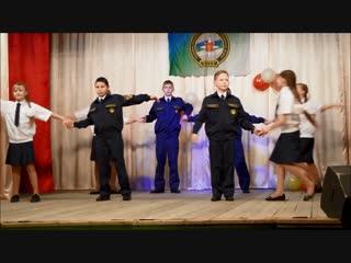 Кадеты Щельяюрской СОШ поздравляют с 10-летием УППС и ГЗ