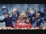 Новогодний фестиваль Синий филин с Путиным, Трампом, Меркель и другими!