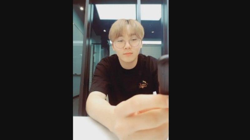 Seungkwan's live confession to vernon   VerKwan