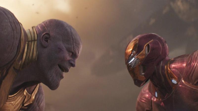 Железный человек vs Танос | Мстители: Война бесконечности (2018)