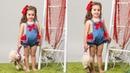 Ranita con volantes REVISTA PATRONES INFANTILES Nº 6