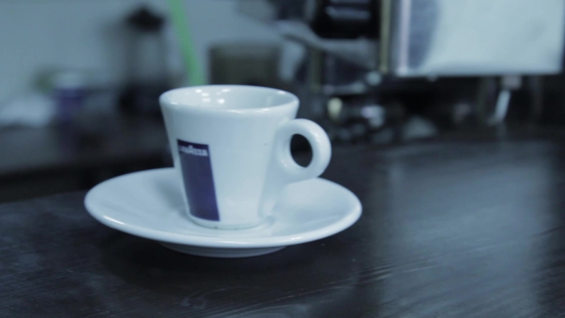Barista coffee shop
