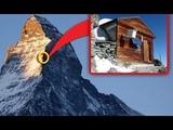 Не для слабонервных! А вы бы смогли переночевать в домике на горе на высоте 4 км над уровнем моря