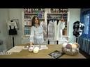 Tunus İşi hafif hırka yapımı- Making A Light Tunisian Work Vest with Alize Angora Gold