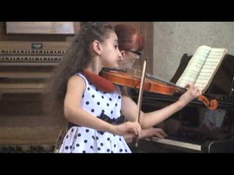 Rigodon, (L K Daken) - Performed by 7 years old Victoria Zakaryan