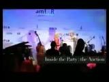 Обнимашки Шэрон Стоун и Мадонны, 2008. Каннский кинофестиваль. amfAR.