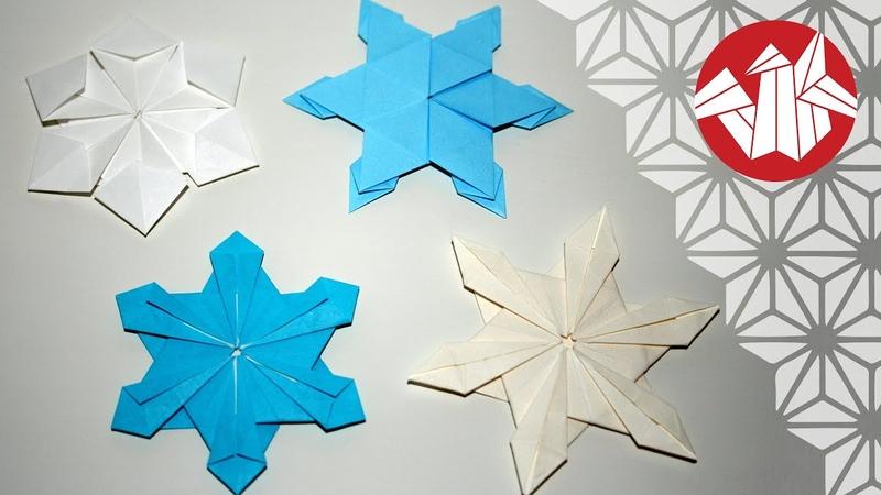 Tuto Origami Flocons de neige Senbazuru