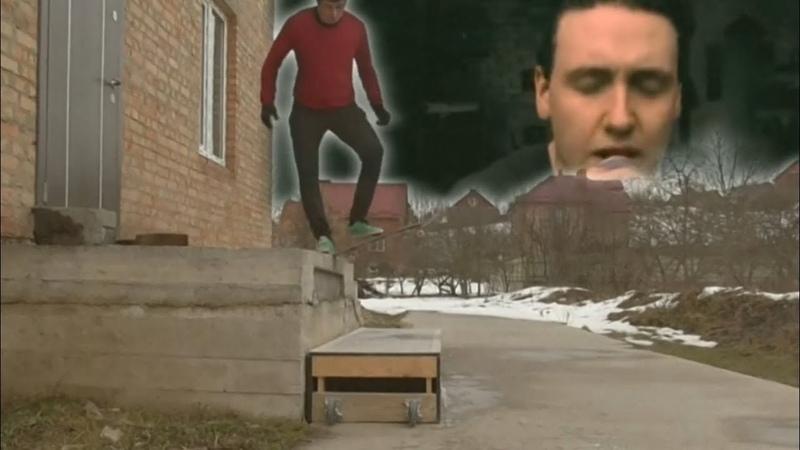 One Papa foot Roach skateboard for adelineballade Igor Shtogryn Trash video