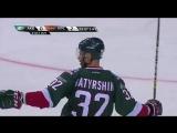 Ак Барс забивает 3 шайбы за 41 секунду ! Это рекорд в КХЛ