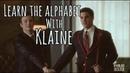 Learn the alphabet with Klaine