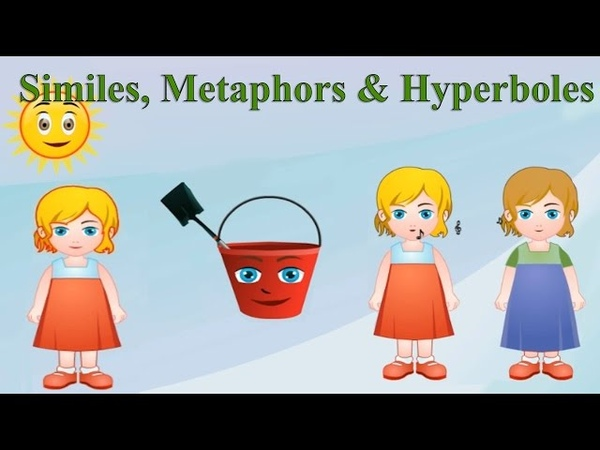 Similes, Metaphors Hyperboles: Differences, Examples Practice for Kids