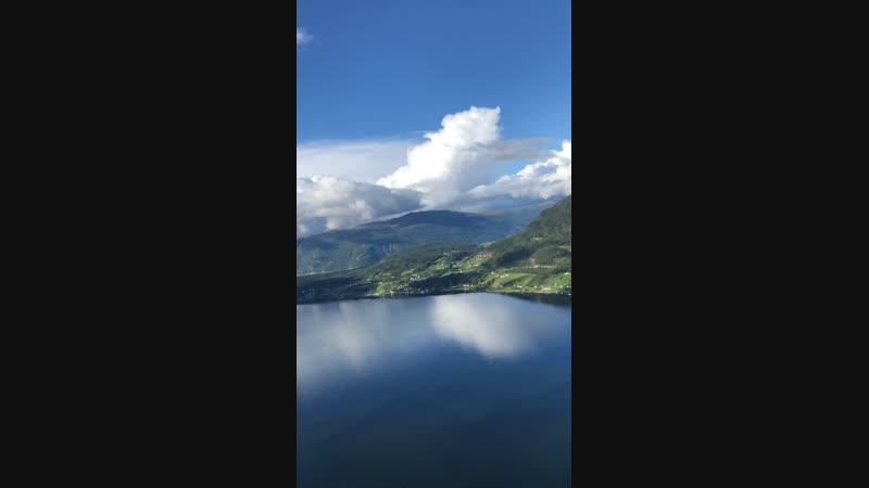 Норвегия с высоты
