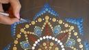How to paint dot mandalas with Kristin Uhrig- 33 Dreamcatcher part 1