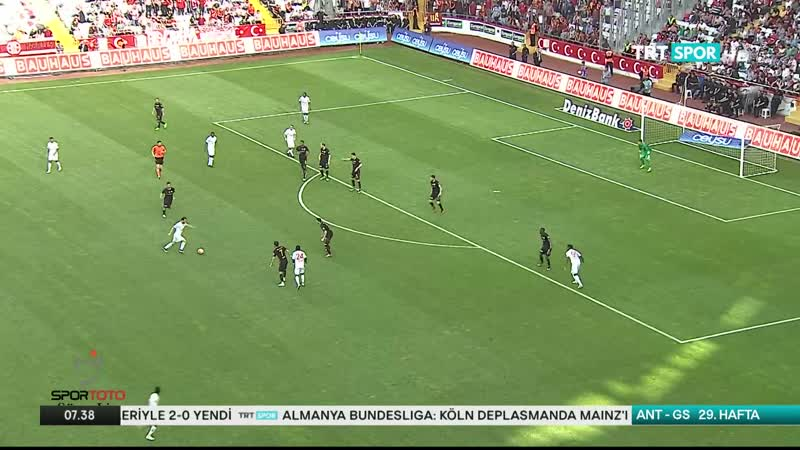 Antalyaspor Galatasaray genis ozet 15 16