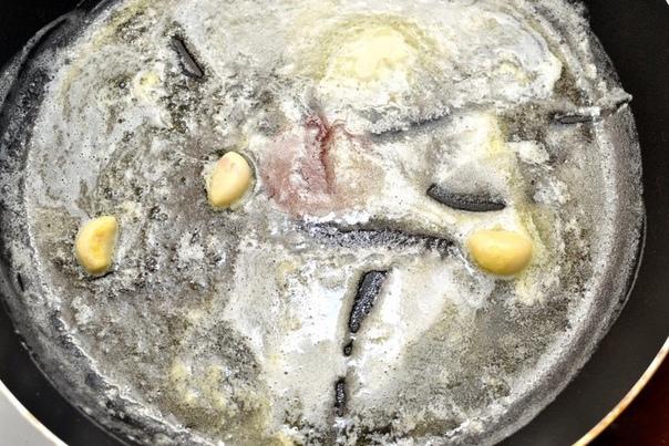 Безумно вкусная паста с креветками и соусом Альфредо