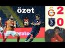 GALATASARAY vs MEDİPOL BAŞAKŞEHİR / MAÇ ÖZETİ (2-0)