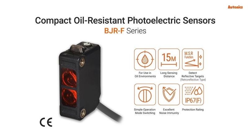 DJ серия Высокопроизводительные фотоэлектрические датчики в компактном корпусе.