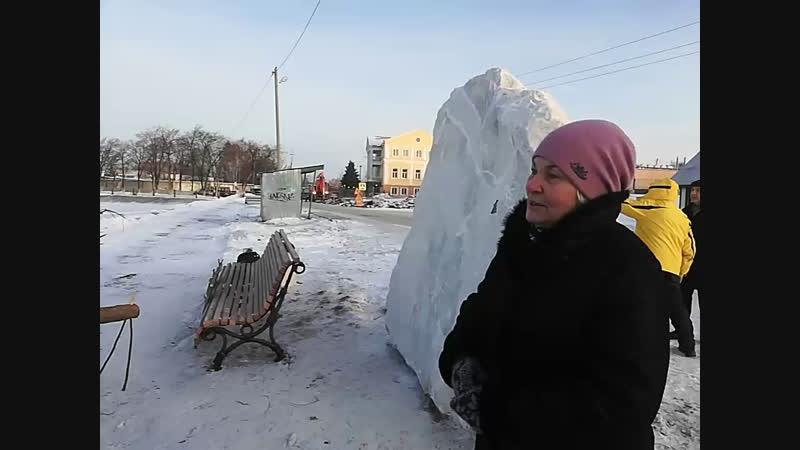 Открытие арт-объекта Борода Бажова на берегу Верхнего пруда