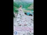Необычно! Свадебное платье из 40 мешков для цемента!