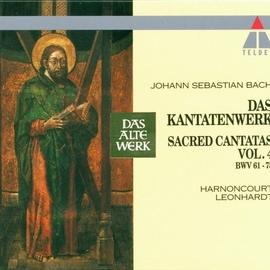 Nikolaus Harnoncourt альбом Bach, JS : Sacred Cantatas Vol.4 : BWV 61-78