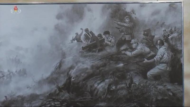 전승의 력사 영원하리 -조국해방전쟁승리기념관-새로운 반공격을 위한 준비