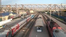 Прибытие ЭП1М-437 с поездом Владикавказ — Санкт-Петерб.