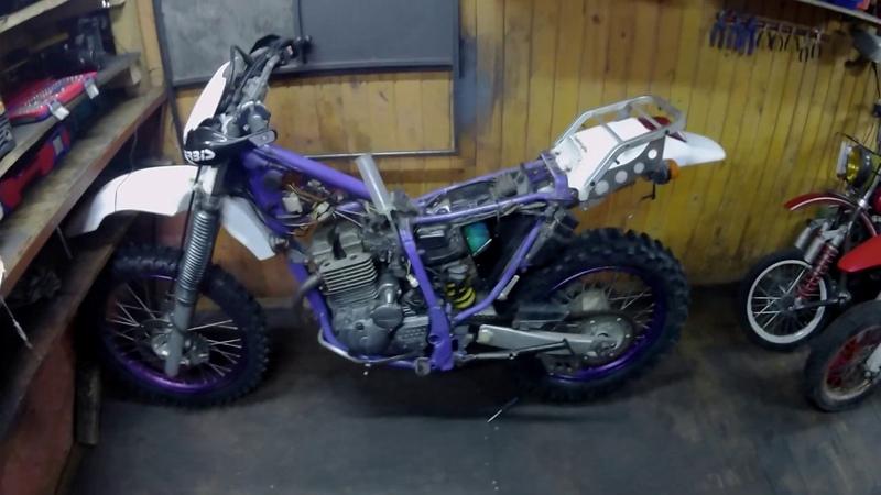 Запуск Yamaha TTR 250 После всех проведенных работ