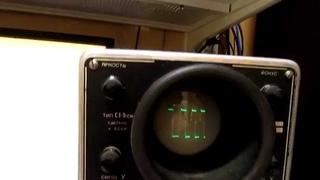 Ламповый Осциллограф С1-5 (СИ-1). Часть 1. Vacuum tube oscilloscope S1-5