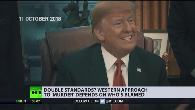Westliche Doppelstandards erreichen neues Niveau Die Fälle Khashoggi und Skripal im Vergleich