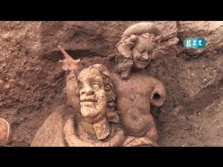 В Орду нашли три статуи возрастом 2 тыс.100 лет