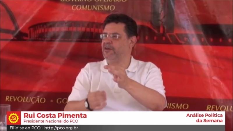 A Lei da FichaLimpa é inconstitucional AFIRMA Rui C. Pimenta do PCO. LulaLivre InfoDigit-PC