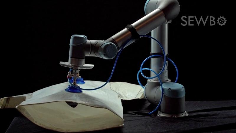 Sewbo Robot A Sewing Robot Can Sew T-Shirt