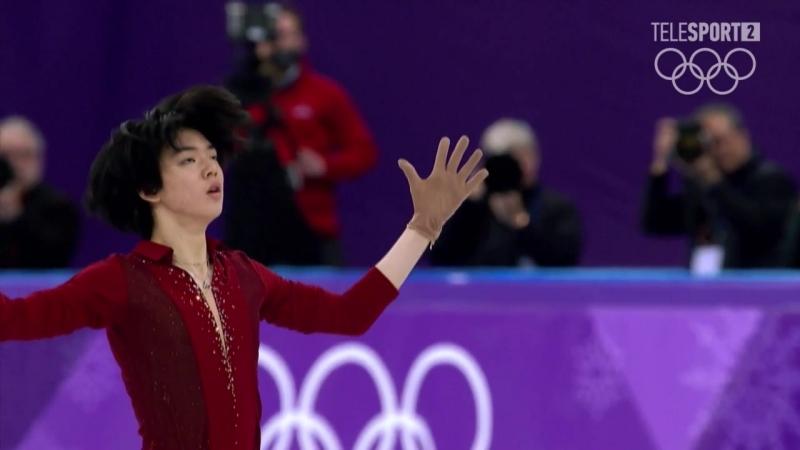 Winter Olympic Games 16.02.18 Cha Jun Hwan SP