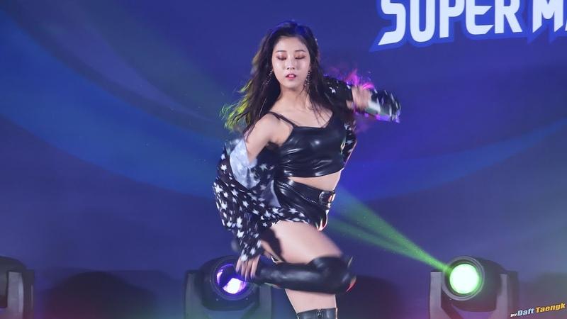180408 승연 Seungyeon 씨엘씨 CLC BLACK DRESS @한국-태국 여자배구 슈퍼매치 4K 60P 직캠 by DaftTaengk