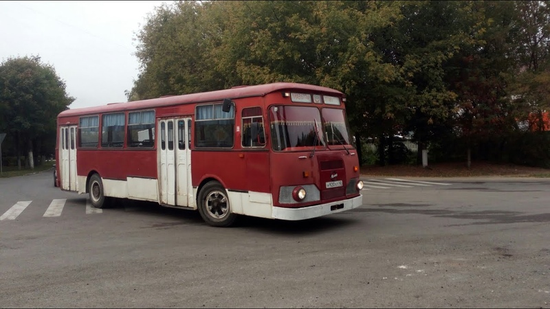 Поездка на ЛиАЗ-677М 16.09.2017. Серпухов.