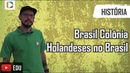 História do Brasil - Brasil Colônia: Holandeses no Brasil