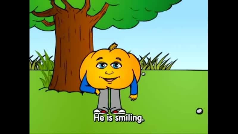 "Lesson 14 Basic English Emotions Grammar Cartoon by Pumkin.com _""Why are you ؟_"""