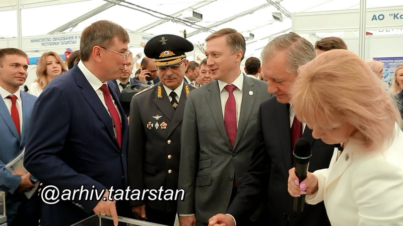 Выставка «История авиации в Татарской республике» в рамках форума АКТО