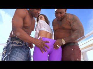 Remy lacroix dpd, her ass gets owned by two big black cocks