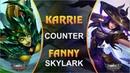 KARRIE COUNTER FANNY SKYLARK, Mobile Legends - GIVEAWAY SKIN