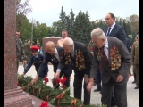 Возложение цветов и венка к Стеле Ржев город воинской славы
