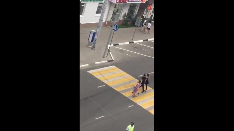 Видео пожара в Белгороде 23.06.2018